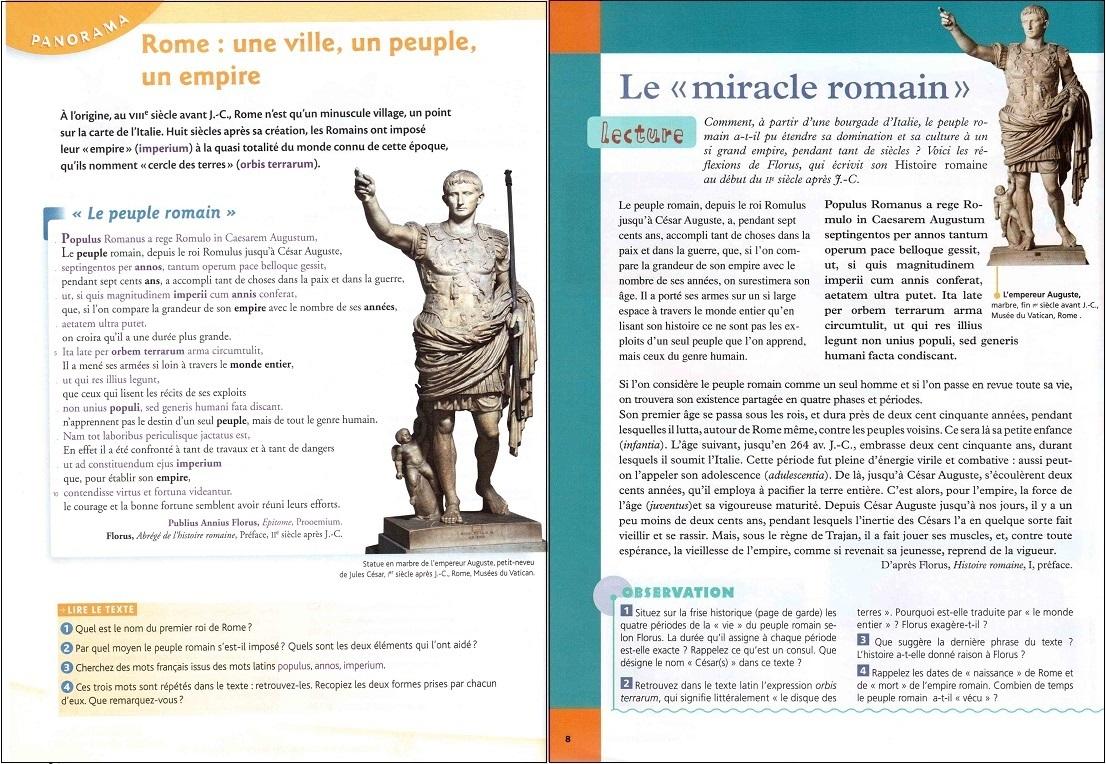 Aide aux devoir: Exercices De Latin 4eme