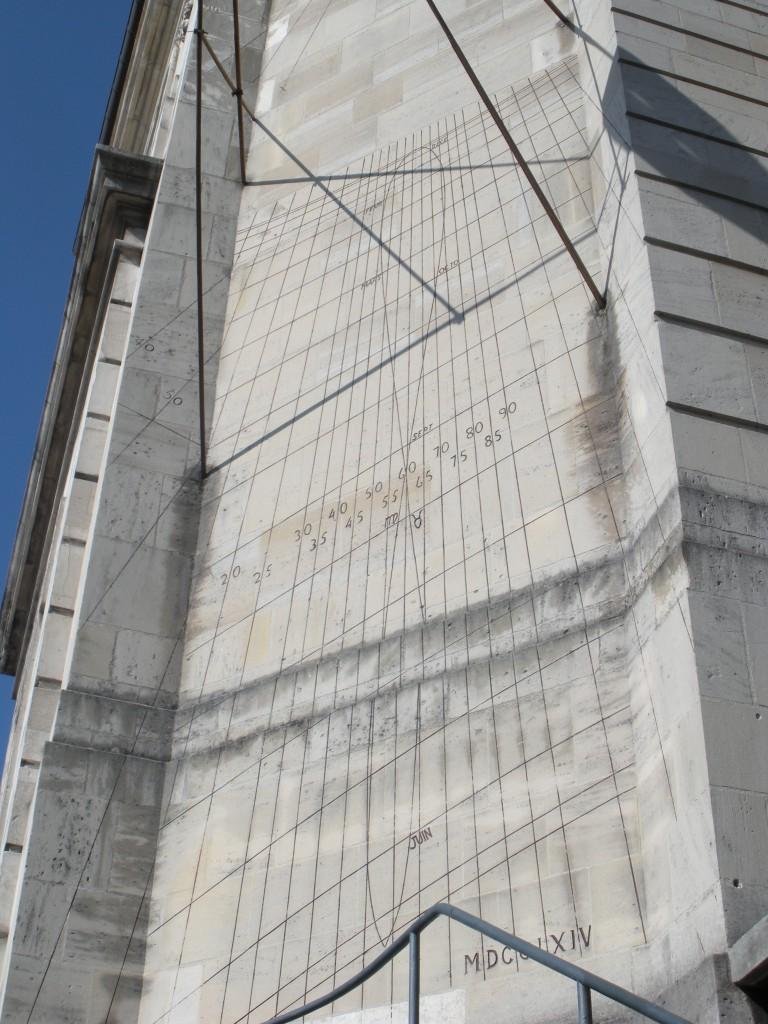 Cadran solaire de l'Hôpital de Troyes