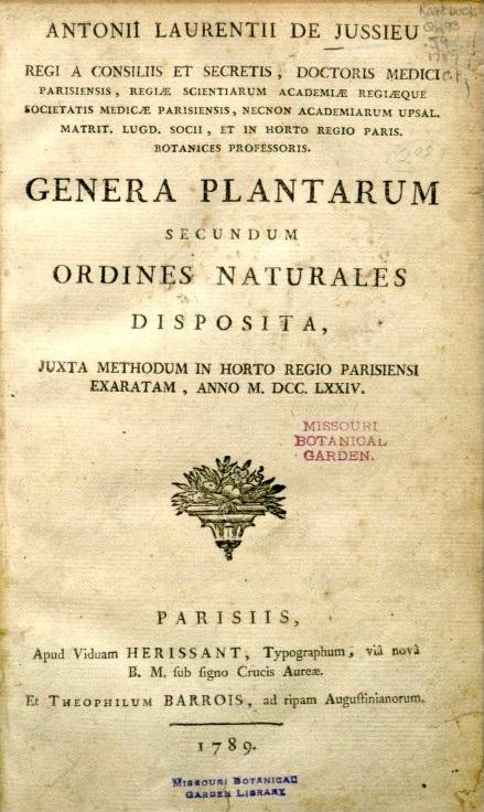 GeneraPlantarum
